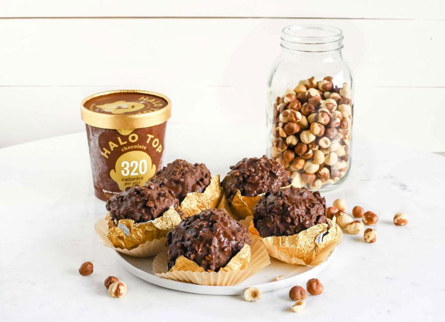 Ferrero Rocher Ice Cream Tartufo1