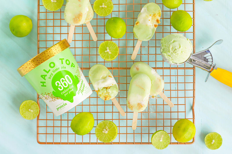 Key Lime Pie Ice Cream Pops Recipe
